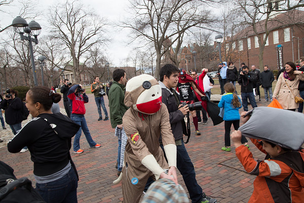 Boston Pillow Fight 2014